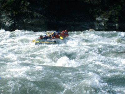 Kaligandaki River Rafting