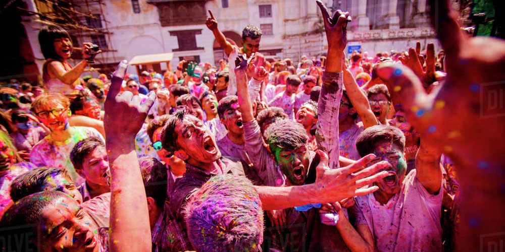 Holi Festival Experience Tour of Nepal