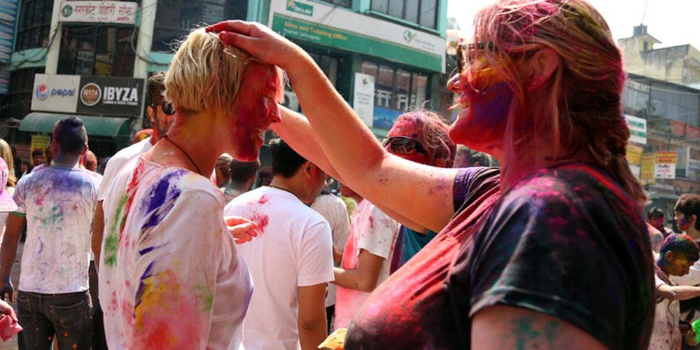 Holi Festival Experience Tour of Nepal