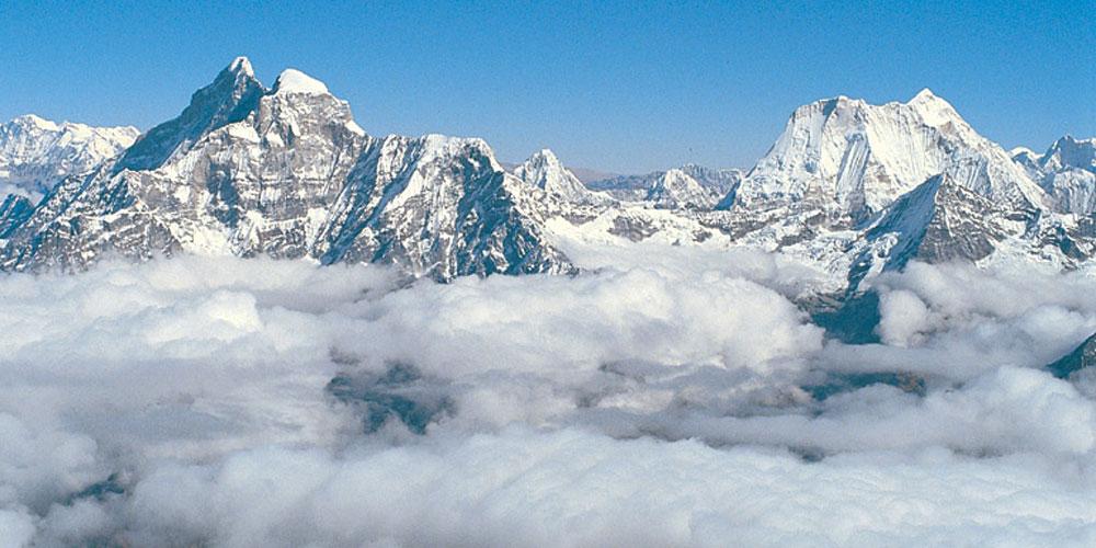 Kathmandu Sightseeing tour with Mountain flight