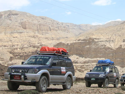 Lower Mustang and Upper Mustang Tour by Jeep