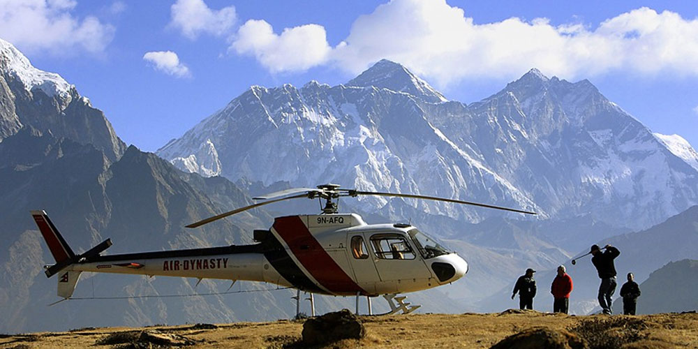 One Day Helicopter Tour to Everest Base Camp and Kalapatthar