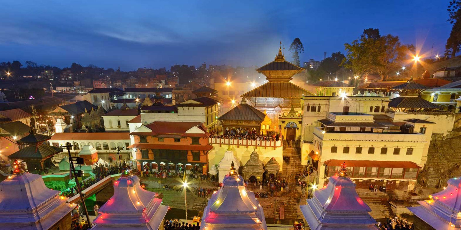 Pashupati area Kathmandu