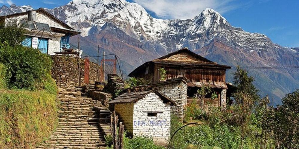 Pokhara-Ghandruk-Dhampush Treks